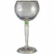 Серебряный бокал Италия с эмалью