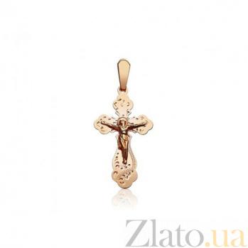 Золотой крестик Иерусалим EDM--КР049