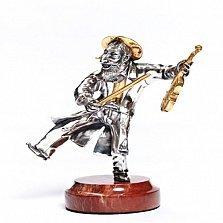 Серебряная статуэтка Веселый скрипач