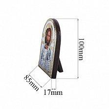 Серебряная икона с позолотой Иисус Христос