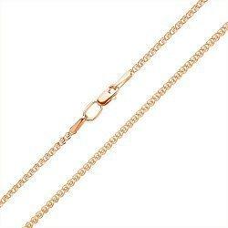 Золотой браслет Анжелика в плетении лав, 5,5мм