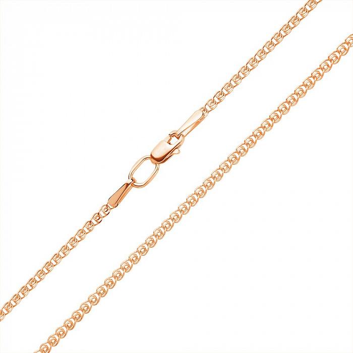 Золотой браслет Анжелика в плетении лав, 5,5мм 000050573