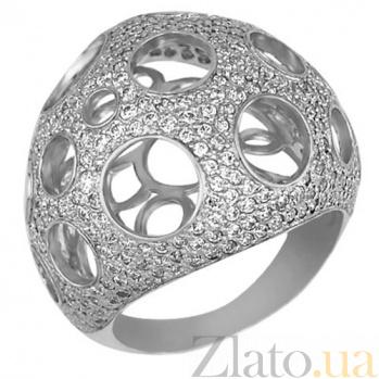 Кольцо из белого золота Эрида VLT--ТТ164-3