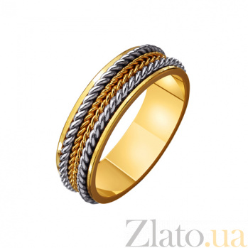 Золотое обручальное кольцо Доказательство любви TRF--4411610