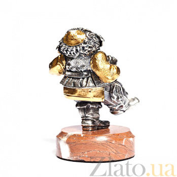 Серебряная статуэтка Балагур 1358