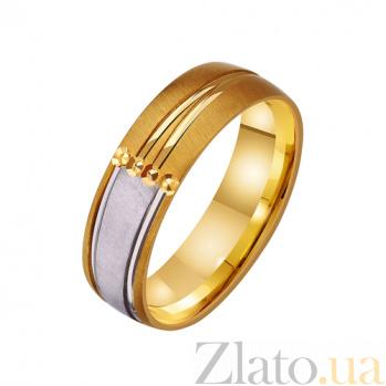 Золотое обручальное кольцо Восторг любви TRF--431314