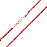 Шелковый браслет Малуа с золотой застежкой