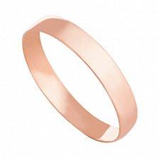 Золотое обручальное кольцо Навсегда вместе