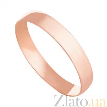 Золотое обручальное кольцо Навсегда вместе VLN--318-1150