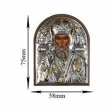 Икона Святой Николай, 58х75мм