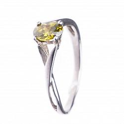 Серебряное кольцо Колин с фианитом