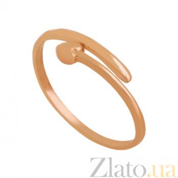 Кольцо из красного золота Любовь VLN--312-1792