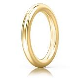 Обручальное кольцо из желтого золота Мой милый ангел: Безграничная Любовь
