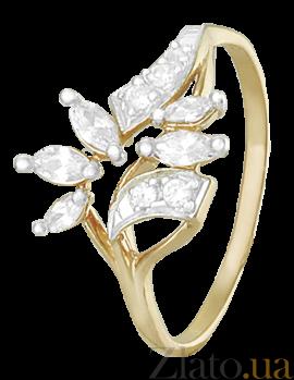 Серебряное кольцо с фианитами Ноэль 000025584