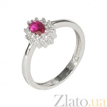 Золотое кольцо с фианитами Джоэлл 2К304-0112