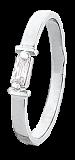 Серебряное кольцо с цирконием Альда