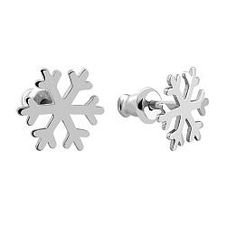 Серебряные сережки-пуссеты 000067315