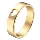 Кольцо в желтом золоте Сердечко