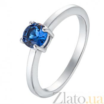 Серебряное кольцо Реприза TNG--320906С/син