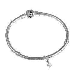 Серебряный браслет для шармов Love 000039371