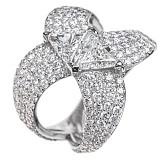 Кольцо с бриллиантами Angelia