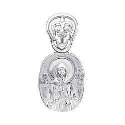 Серебряная ладанка Святая Матрона 000147185