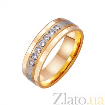 Золотое обручальное кольцо Dolce Vita с цирконием TRF--4421037