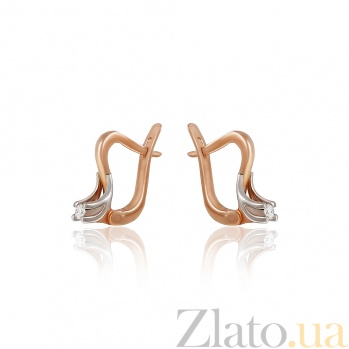 Золотые серьги с бриллиантами Мелисса EDM--С7413