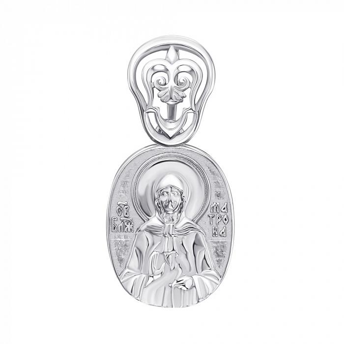Серебряная ладанка Святая Матрона 000147185 000147185