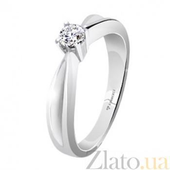 Кольцо для помолвки с бриллиантами Caroline KBL--К1415/бел/брил