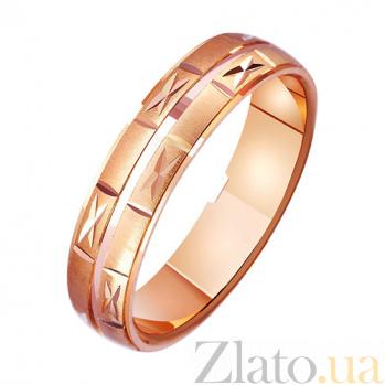 Золотое обручальное кольцо Звездопад TRF--411181