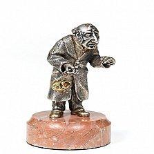 Серебряная статуэтка  Меняла