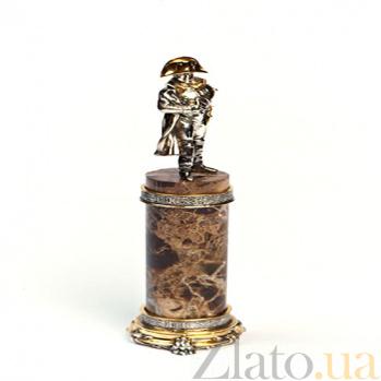 Серебряная статуэтка с позолотой Бонапарт 416