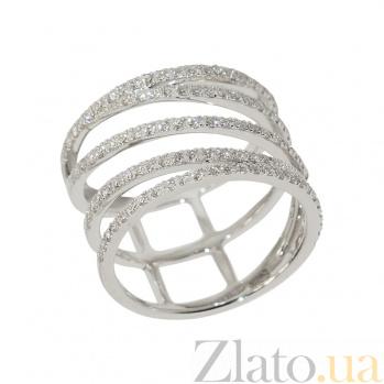 Золотое кольцо с бриллиантами Глория 1К441-0253