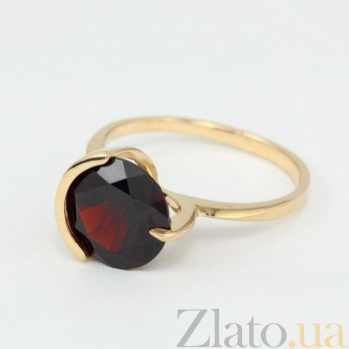 Золотое кольцо с гранатом Клэр VLN--112-1300-3