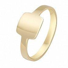 Кольцо из желтого золота Модуль