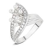 Серебряное кольцо Denise