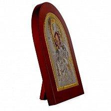 Икона Владимирская Божья Матерь на деревянной основа, 11х13см