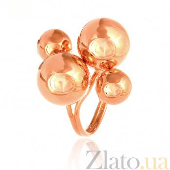 Позолоченное серебряное кольцо Воздушные шары 000028175