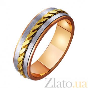Обручальное кольцо из комбинированного золота Лаура TRF--471790