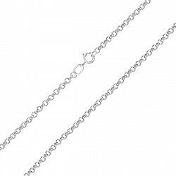 Серебряная цепочка Джеки в плетении ролло, 1,5 мм