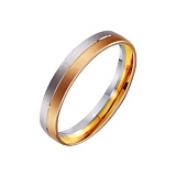 Золотое обручальное кольцо Магия любви