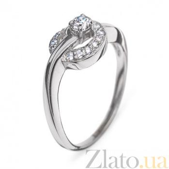 Кольцо из белого золота с бриллиантами Аннабель R0258