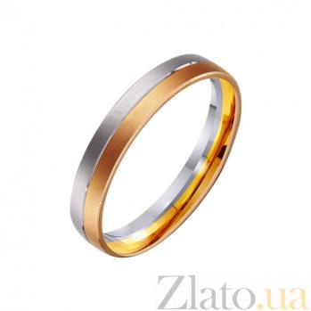 Золотое обручальное кольцо Магия любви TRF--441477