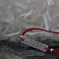 Шёлковый браслет Вышиванка с серебряной вставкой Вышиванка2