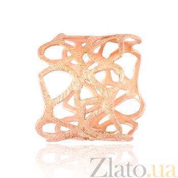 Серебряное кольцо с позолотой Оделия 000028224