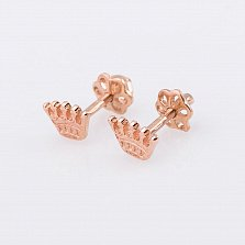 Золотые сережки Принцесса