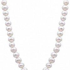Жемчужное ожерелье Марин с диаметром бусин 8 мм