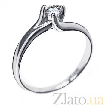 Кольцо с бриллиантом Артемида R0089