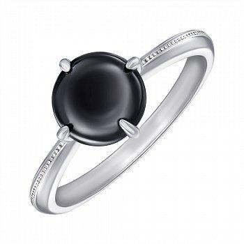 Кольцо серебряное с керамикой 000147851